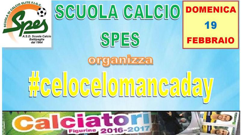 """Calciatori E Cucciolotti: Alla Spes Il """"Celo Celo Manca Day"""" 2017"""