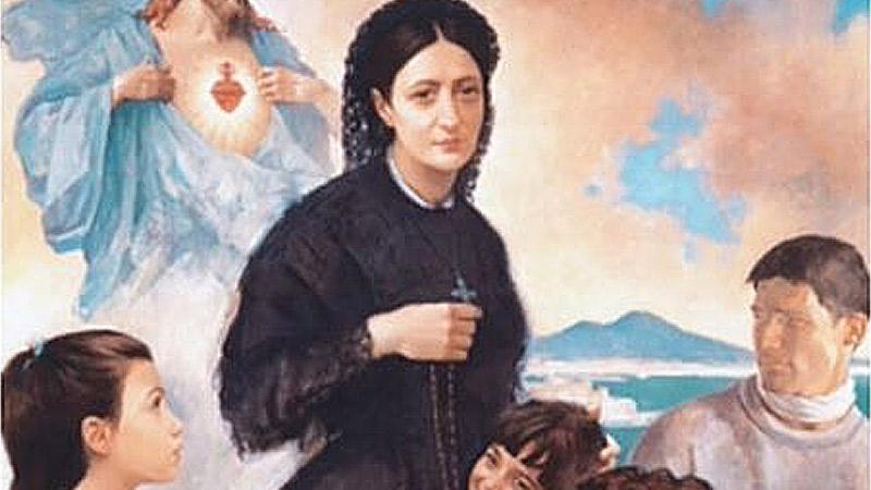 """Le """"Piccole Ancelle"""" Di Salerno Ricordano Caterina Volpicelli"""