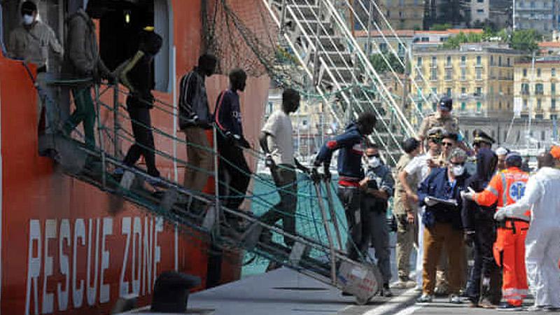 Sbarco Migranti A Salerno: 935 Arrivati Da Gambia E Nigeria