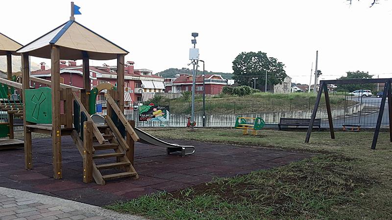 Per La Città, Per Le Famiglie: Riapre Il Parco-giochi Di Saragnano