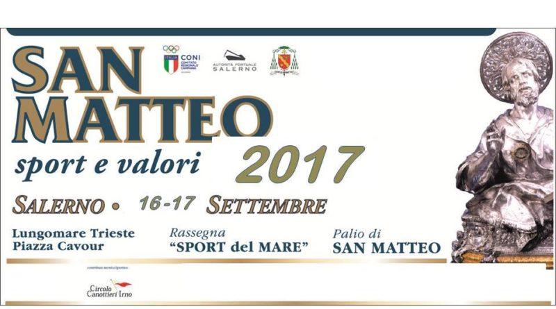 """In Gara Per San Matteo: Torna """"Sport E Valori"""" Edizione 2017"""