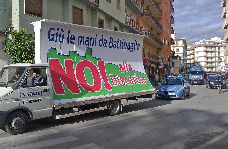 No Al Sito Di Compostaggio Dei Rifiuti: I Battipagliesi Scendono In Piazza