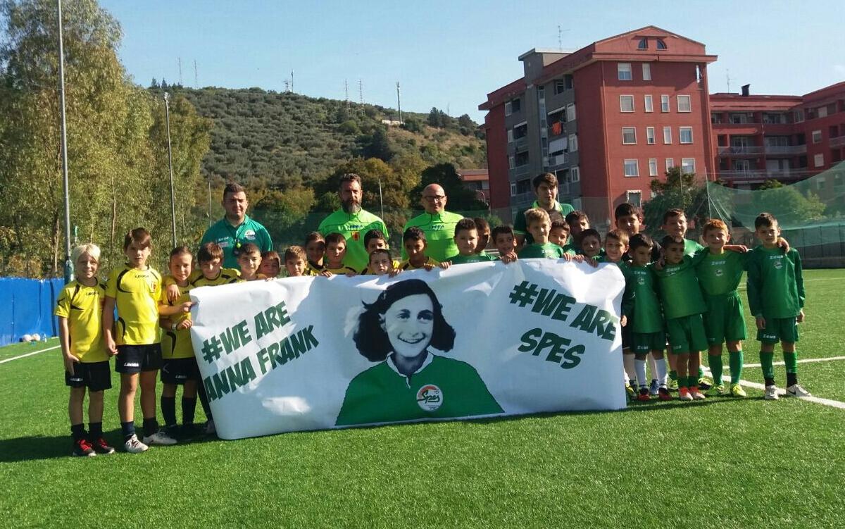 Nel Ricordo Di Anna Frank: La 'lezione' Della Scuola Calcio Spes