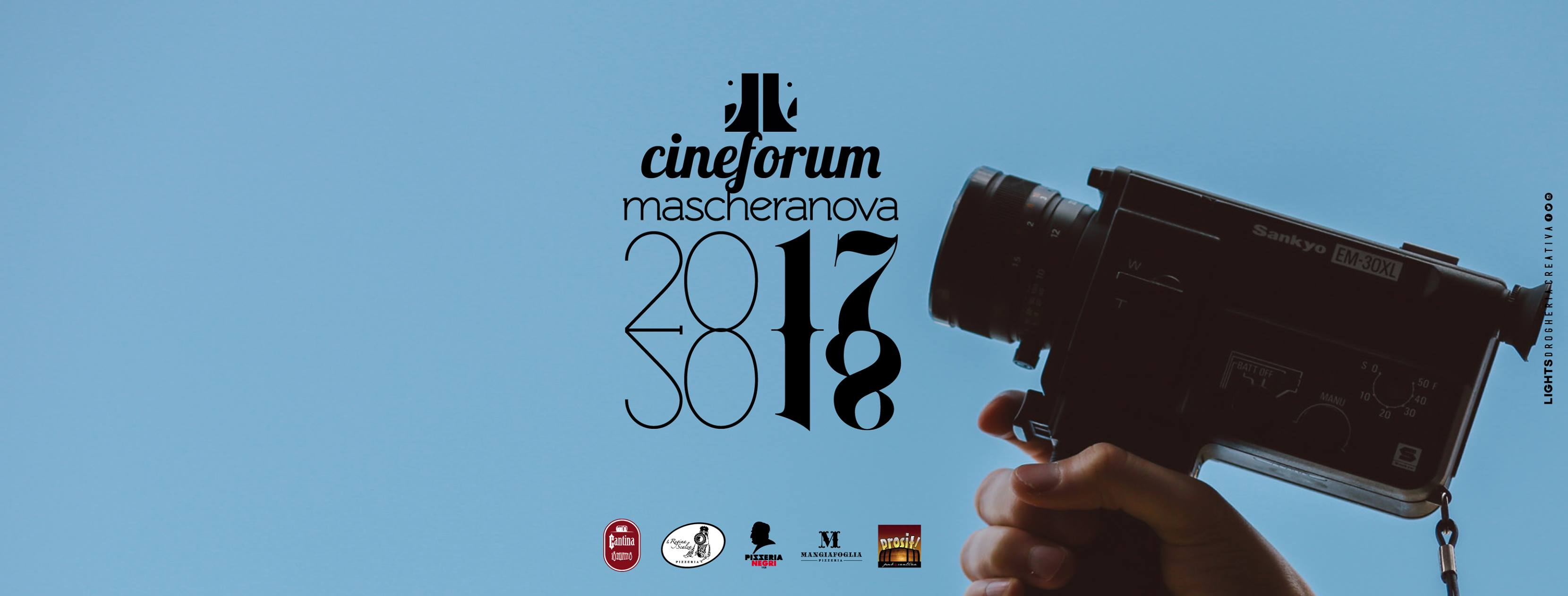 "Cineforum ""Mascheranova"": Il Cinema Contemporaneo Per Tutti"