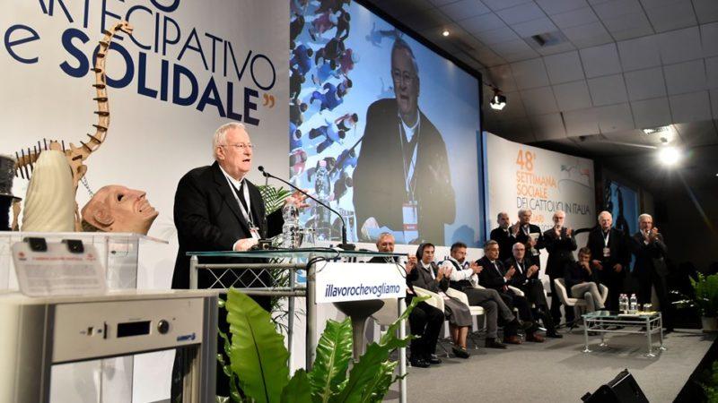 Cagliari 29-10-2017 48° Settimana Sociale Dei Cattolici Italiani Gualtiero Bassetti Ph: Cristian Gennari/Siciliani