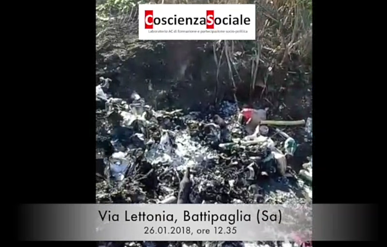 Discarica Tossica In Via Lettonia: Il Video-documentario