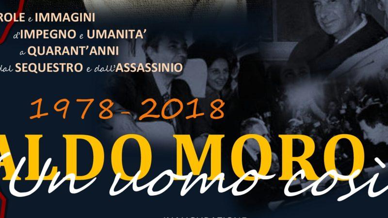 """Inaugurata La Mostra """"Aldo Moro. Un Uomo Così"""": Ecco Lo Slideshow"""