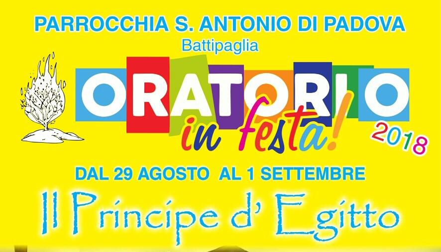 Oratorio In Festa Ai Serroni: Con Mosè In Gioco Per La Santità