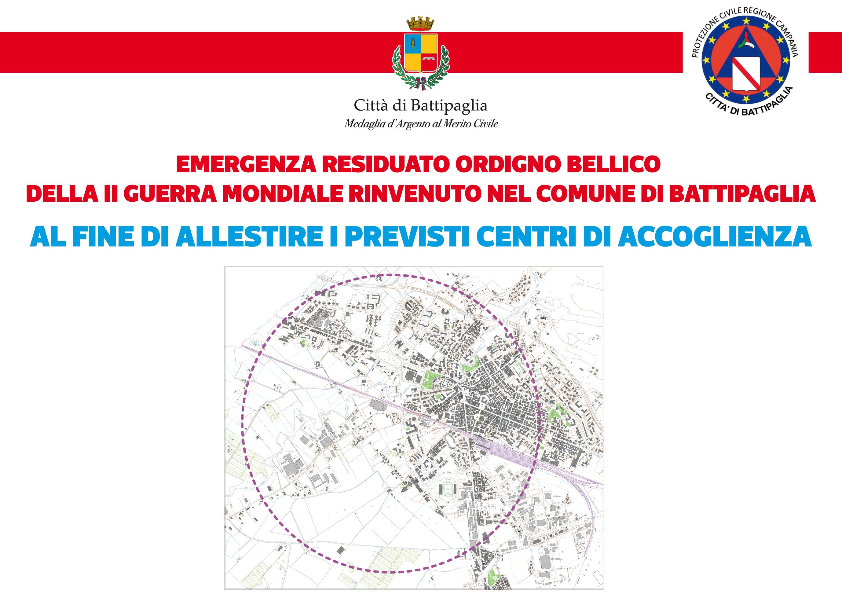 Evacuazione Per Il Bomba-day: Chi Ha Difficoltà A Lasciare Casa, Chiami Il 3351537223