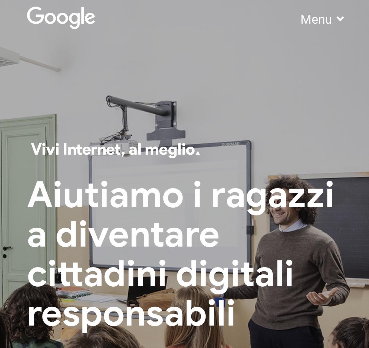 """""""Vivi Internet Al Meglio"""": A Giffoni Il Progetto Di Google, Altroconsumo E Telefono Azzurro"""