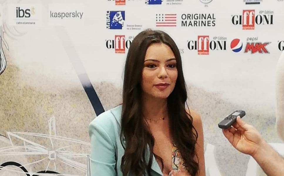 Eleonora Gaggero Al GFF 2019:   L'Explosive Talent Award Alla Giovane Attrice