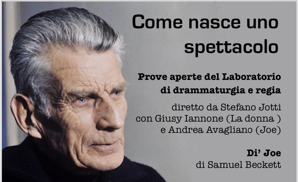 Teatro Sperimentale Con Jotti, Aspettando Beckett: In Ateneo Come In Scena