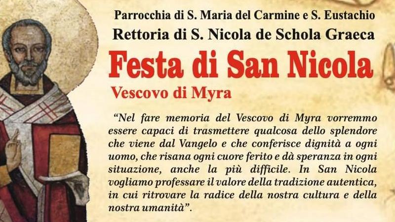 Ritorna La Festa Di San Nicola: Arte, Fede E Tradizione Nel Centro Storico