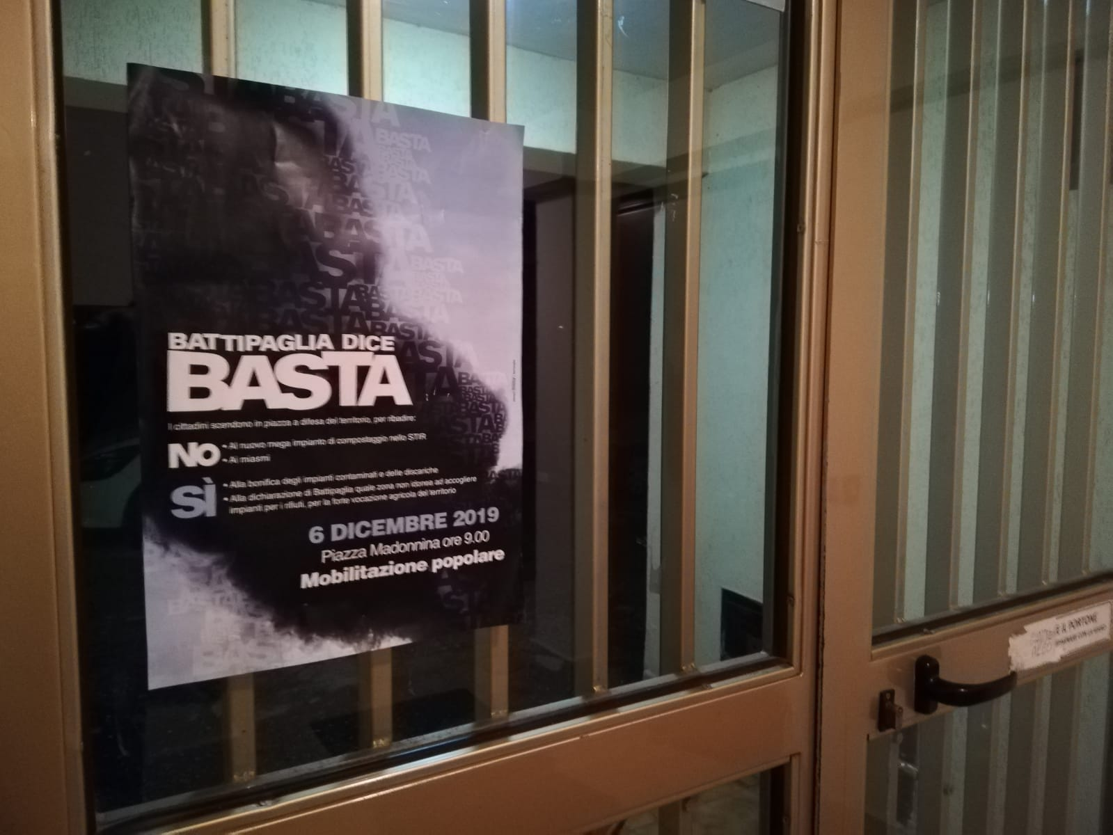 """""""Battipaglia Dice Basta"""": Venerdì 6 Dicembre In Migliaia Pronti A Scendere In Piazza Per Difendere Il Territorio"""