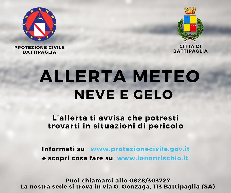 Protezione Civile In Allerta: Rischi Da Vento Forte, Neve E Gelo