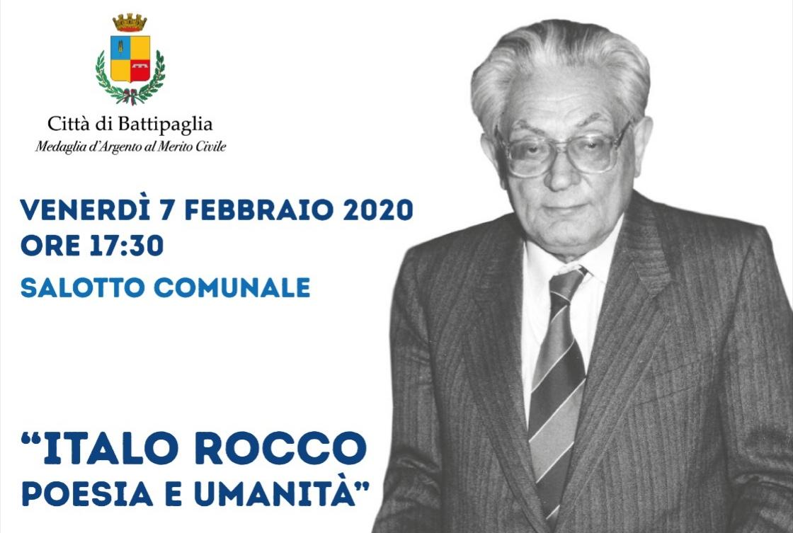 Poesia, Impegno Civile E Senso Religioso: In Ricordo Di Italo Rocco A 20 Anni Dalla Scomparsa