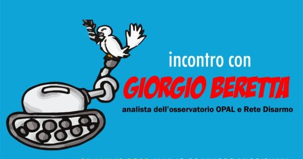 Produzione E Commercio Delle Armi: Un Incontro Con Giorgio Beretta