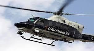 Da Pontecagnano A Caggiano: Un Elicottero Dei Carabinieri Per Trasferire Macchine Medicali