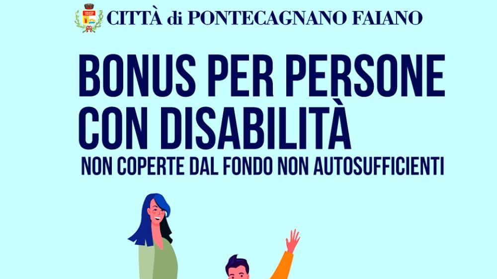 Assistenza Sanitaria E Socio-assistenziale: A Pontecagnano Un Bonus Per Disabili.