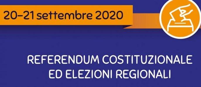 Referendume Elezioni Regionali 2020