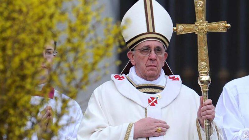 Foto Papa Francesco Messa Pasqua 01 1