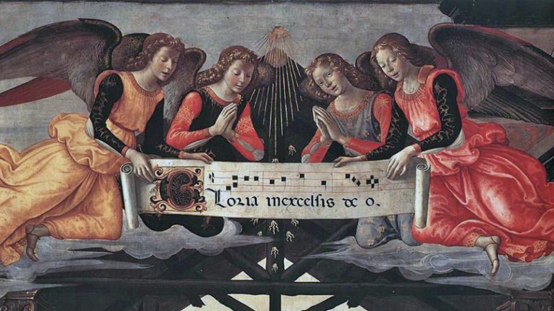 Angeli Cantano Lodano